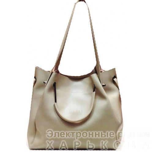 7a38b5038182 Женская сумка GUESS Артикул 4-18-18 бежевая - Женские сумочки и клатчи на рынке  Барабашова