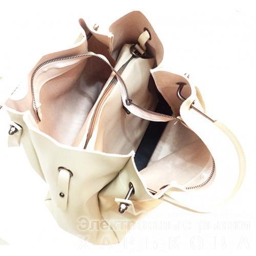 e2fa5fce511c Женская сумка GUESS Артикул 4-18-18 бежевая - Женские сумочки и клатчи на  ...