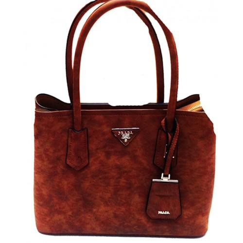 Женская сумка Prada Артикул 4-20-20 рыжая