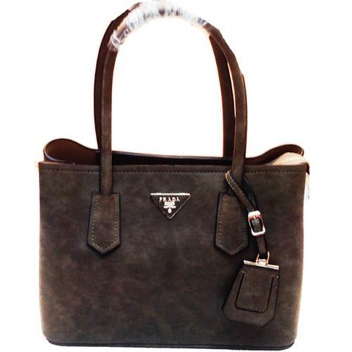 Женская сумка Prada Артикул 4-20-20 серая