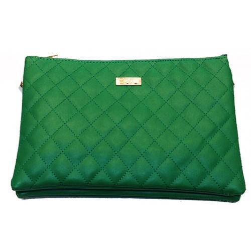 Женская сумка планшет М Артикул 650 зеленый