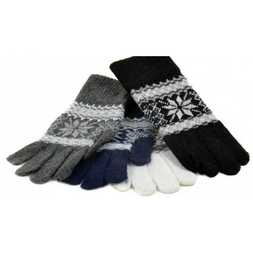 Женские вязаные перчатки Мери Classic Артикул V-1