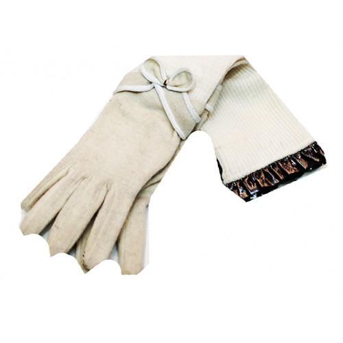 Женские перчатки Bao JI Артикул Ю-025 белые