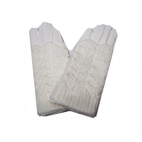Женские перчатки кружево Boxing Артикул Ю-85 белые