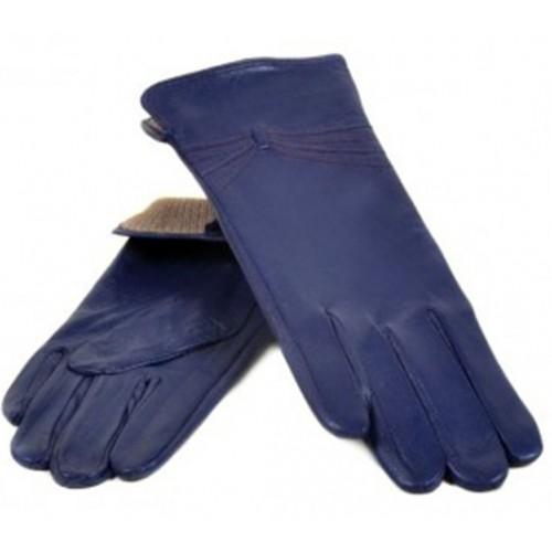 Женские перчатки Мари Classic Артикул F23-1 синие