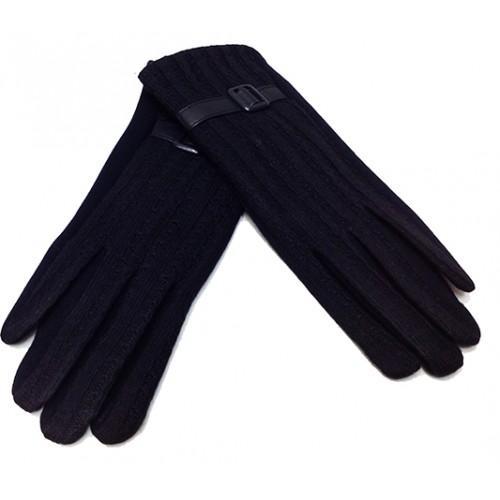 Женские перчатки Мария х/б Артикул  P-004 синие