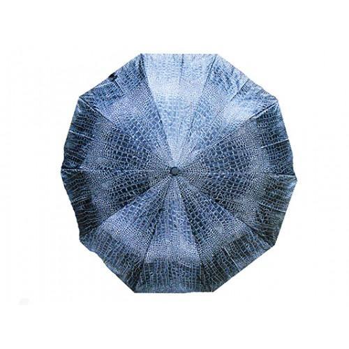 Женский зонт High Quality Артикул 114 сине-серый