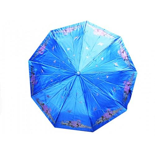 Женский зонт High Quality Артикул 155 голубой