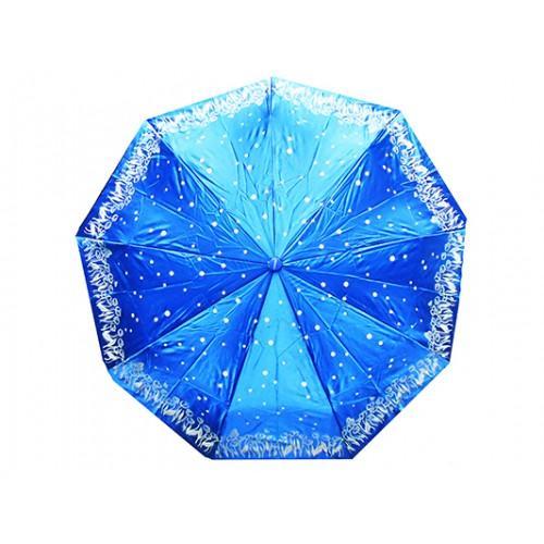 Женский зонт High Quality Артикул 170 голубой