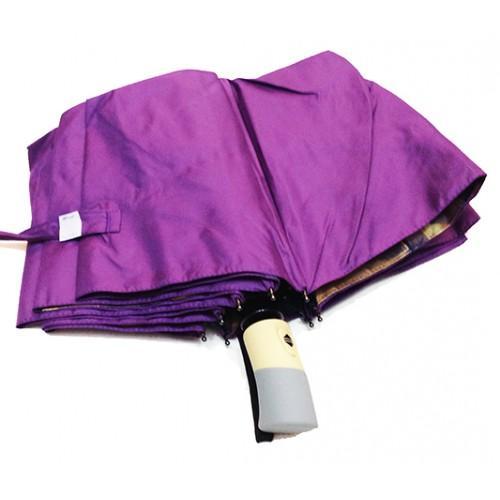 Женский зонт Mario Umbrellas внутри рисунок автомат 3 сложения Артикул 1001-295 сиреневый