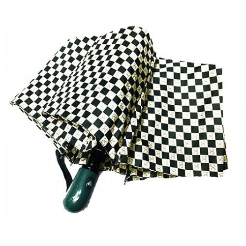Женский зонт Paolo Rosi  полуавтомат Артикул P- 456 зеленый