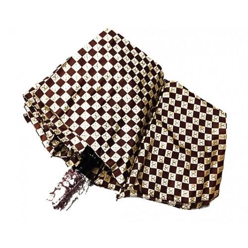 Женский зонт Paolo Rosi  полуавтомат Артикул P- 456 коричневый