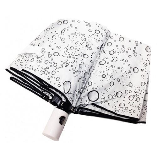 Женский зонт Pasio автомат Артикул P-6893 белый