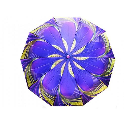 Женский зонт Tornado автомат Артикул 45 s 123 фиолетовый