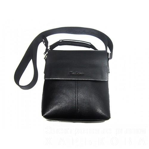 Мужские барсетки Fashion маленькая Артикул 7684-1 черный - Мужские сумки и барсетки на рынке Барабашова