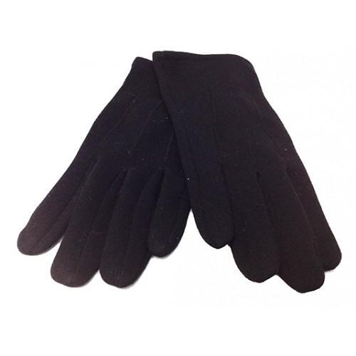 Мужские перчатки Boxing кашемир Артикул  P-0021 №2 черные