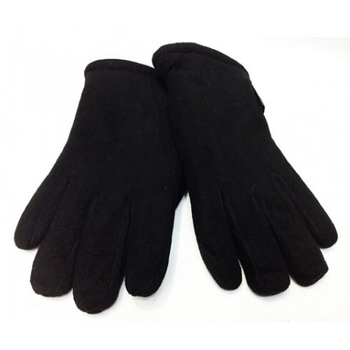 Мужские перчатки  флис Тепло Артикул P-0035 черные
