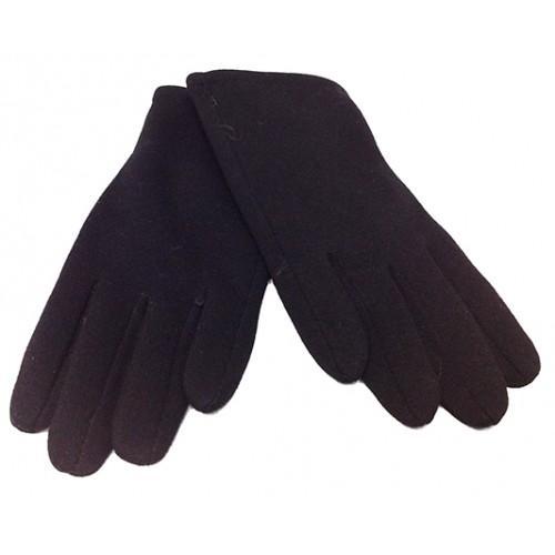 Мужские перчатки Boxing кашемир Артикул  P-0021 №1 черные