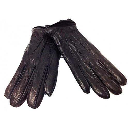 Мужские перчатки Fioretto овчина Артикул P-125 черные