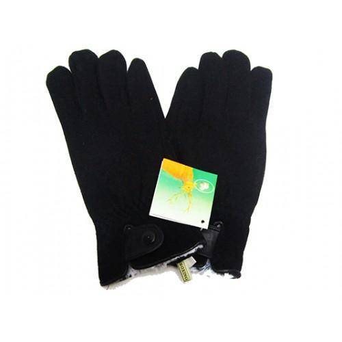 Мужские перчатки Boxing кашемир-мех кролик Артикул Ю060 №01