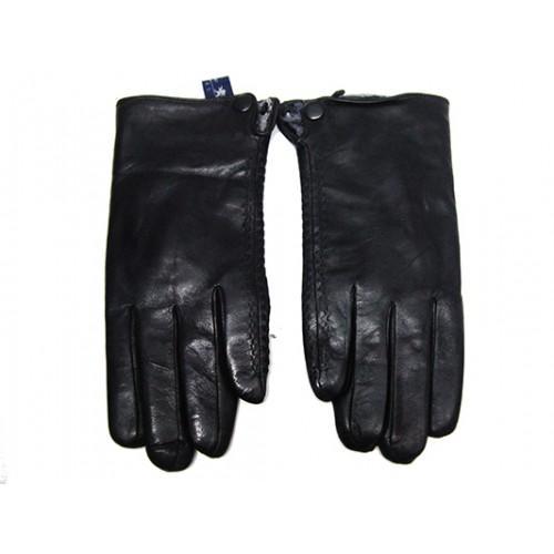 Мужские перчатки кожа Boxing Артикул Ю135-мех кролик №03