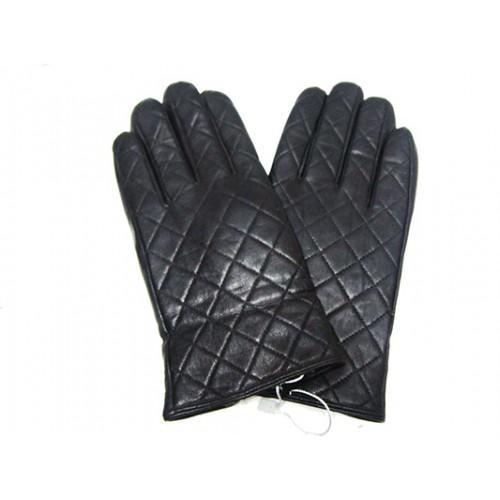 Мужские перчатки кожа Boxing Артикул Ю135-мех кролик №08