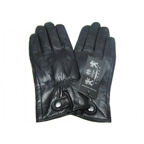 Мужские перчатки кожа Boxing Артикул Ю135-мех кролик №10