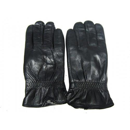 Мужские перчатки кожа Boxing Артикул Ю135-мех кролик №11