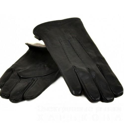 Мужские перчатки олень Flagman Артикул М-22-2-01 - Мужские перчатки на рынке Барабашова