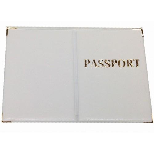 Обложка на Заграничный паспорт Артикул 990 белый