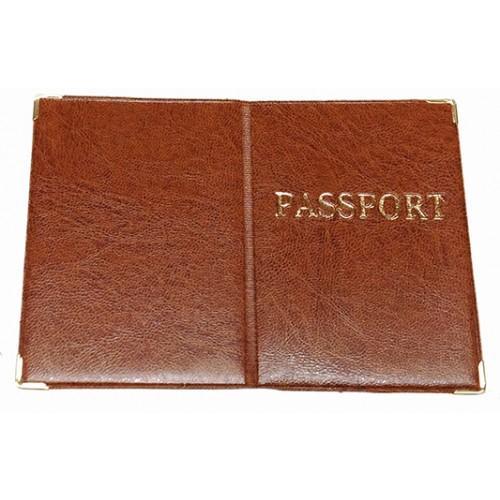 Обложка на Заграничный паспорт Артикул 990 бежевый