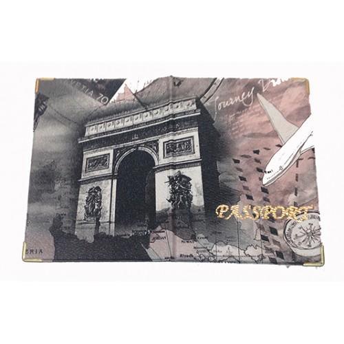Обложка на паспорт Артикул 11-К Париж №04