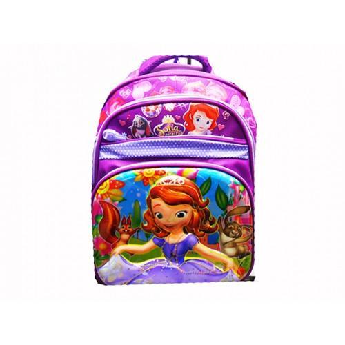 Детский школьный рюкзак Артикул С 250 девочка