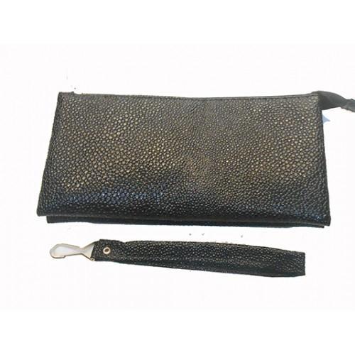 Женская косметичка Артикул 1650 чешуя черный