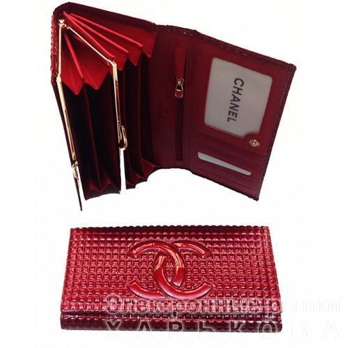 Женский кошелек Chanel Артикул С-3535 бордовый