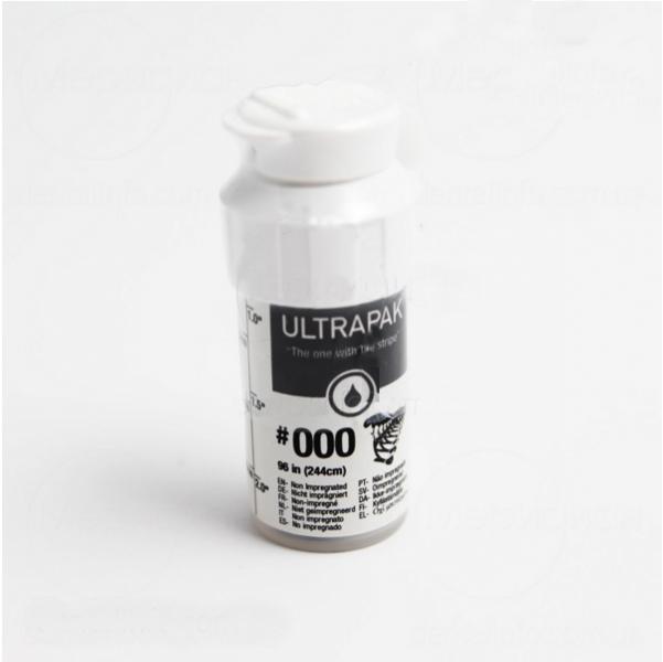 Нить ретракционная Ultrapak №000 без пропитки (ULTRADENT)