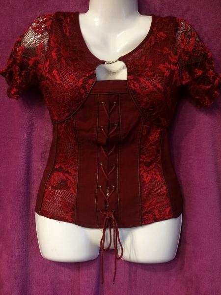 блуза-корсет р44