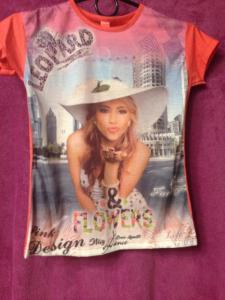 Фото дитячий одяг, дівчатка  футболка 10років