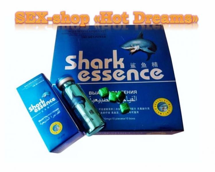 Таблетки Shark Essence (Акулий Экстракт)-растительный стимулятор потенции