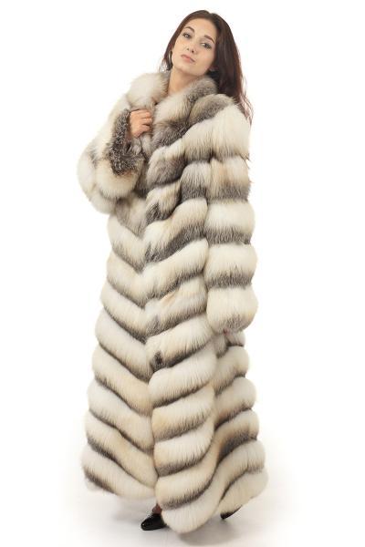 Фото Шубы из лисы Кристальная лиса