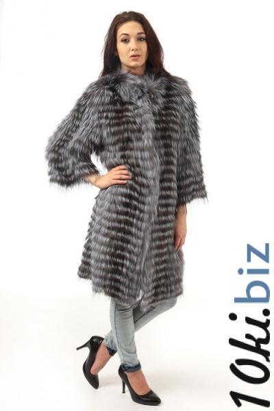 Чернобурка вязаное пальто Шубы из чернобурки в России