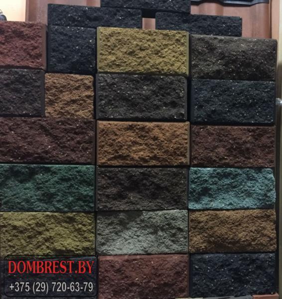 Цементно-песчаные Блоки демлер для забора в Бресте