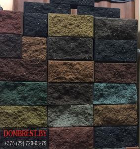 Фото  Цементно-песчаные Блоки демлер для забора в Бресте