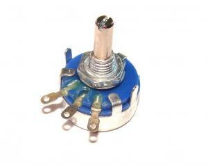 Фото Резисторы, Потенциометры Резистор переменный моно B 2 кОм линейный