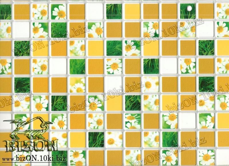 Мозаика «РОМАШКА»   Листовые панели ПВХ
