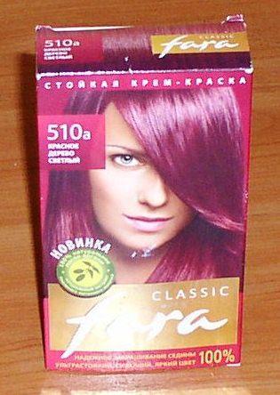 """Краска для волос """"Fara"""", """"Рябина"""", """"Эстель"""" *7011"""