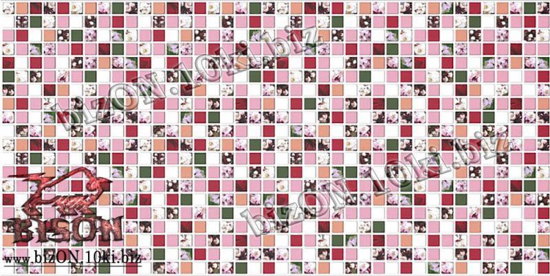 Фото Листовые панели ПВХ Декоративная Мозаика «АБРИКОС»   Листовые панели ПВХ