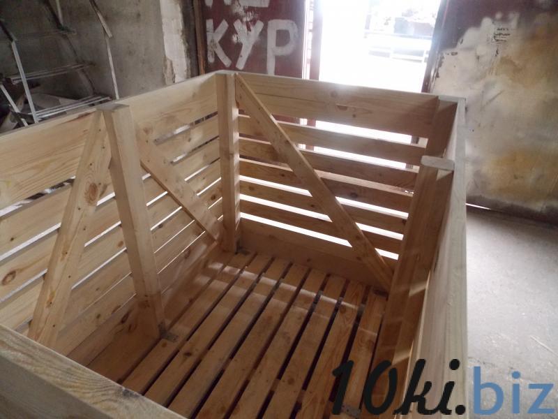 Контейнер под картофель для овощехранилища Контейнеры деревянные в Казахстане