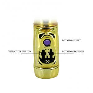 Фото  Вибратор с стимулятором клитора U.S. Gold Lover BW-037203J