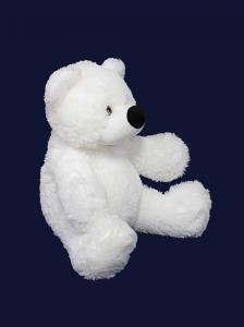 Фото Мягкие игрушки, Плюшевые мишки, Мишка бублик Маленькая игрушка медвежонок 45 см белый